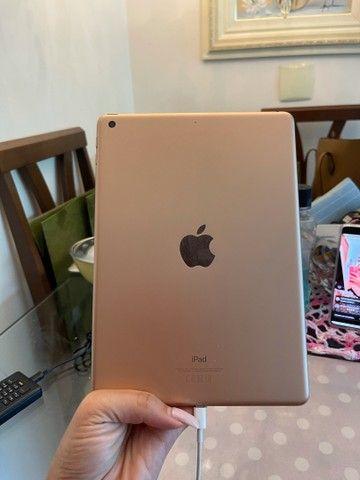 Vendo iPad de última geração Apple gold baixei pra vender logo  - Foto 6