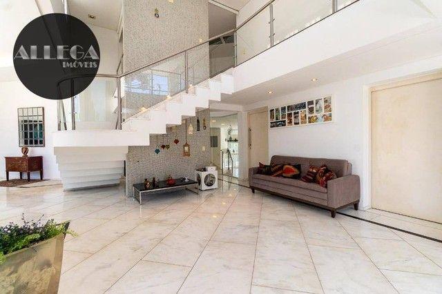 Casa com 5 quartos, 4 suítes, 2 piscinas privativas, à venda, 750 m² por R$ 4.400.000 - Ca - Foto 11