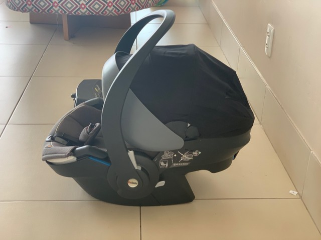 Bebê conforto Besafe + base do carro Besafe  - Foto 4