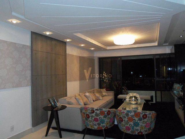Apartamento com 4 dormitórios à venda, 201 m² por R$ 1.300.000,00 - Miramar - João Pessoa/ - Foto 4