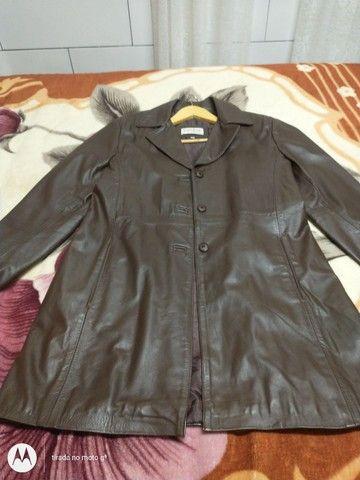 Jaqueta de couro original feminino - Foto 6