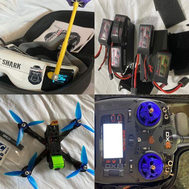 Kit Drone Racing FPV  ou troca