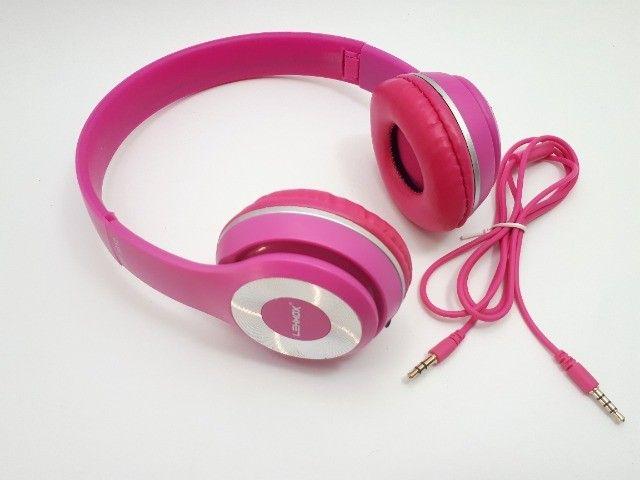 Fone De Ouvido Headphone Para Celular Smartphone P2 Aux Com Fio - Foto 3