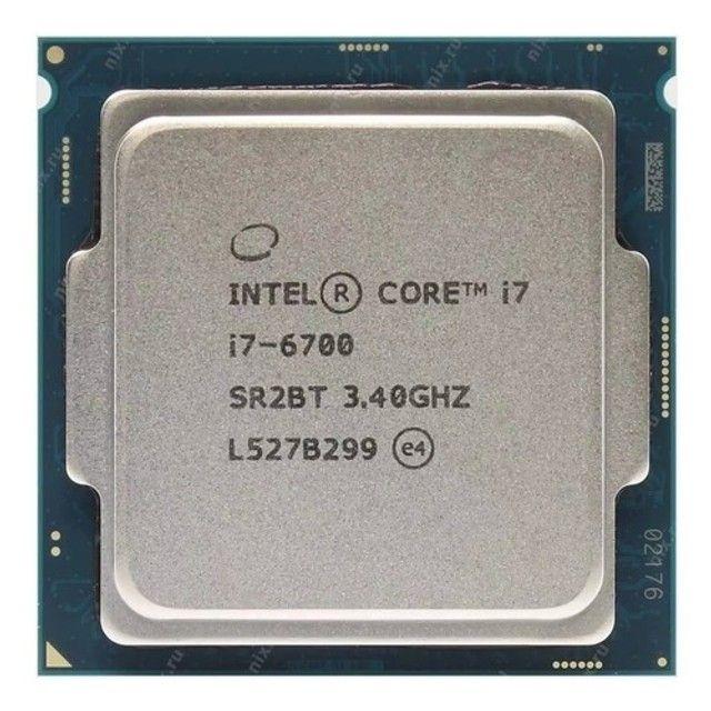 Kit Upgrade - Processador Intel I7-6ª geração  + Placa-Mãe - Foto 5