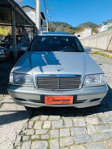 Mercedes C180 Classic C/teto novíssima 1999 top  - Foto 2