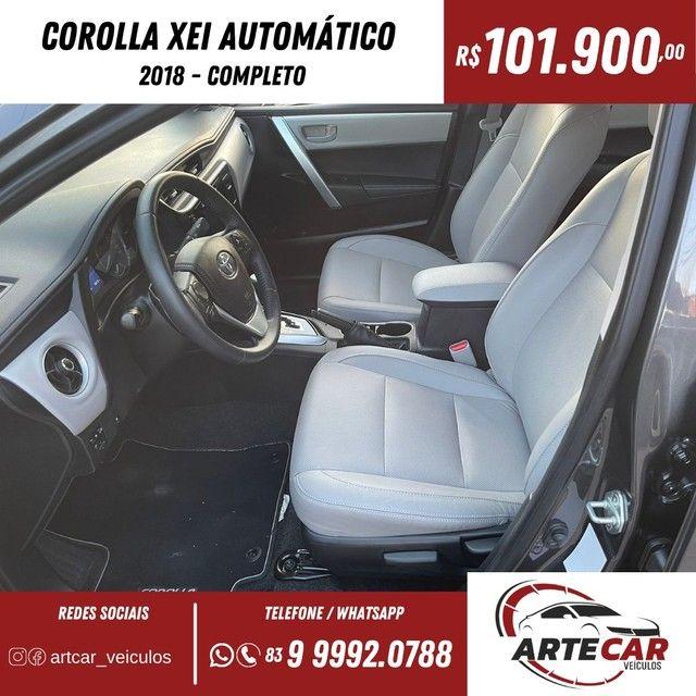 Toyota Corolla xei 2018 automático !!40 mil km - Foto 5