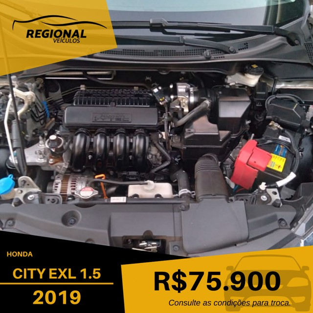 CITY Sedan EXL 1.5 Flex  16V 4p Aut. - Foto 9