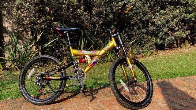 Bicicleta MTB Infantil Kent Hyper 20, Aro 20 - Pouco Usada - Foto 2