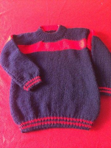 Blusão de lã lindo ! Novo 50 reais  - Foto 5