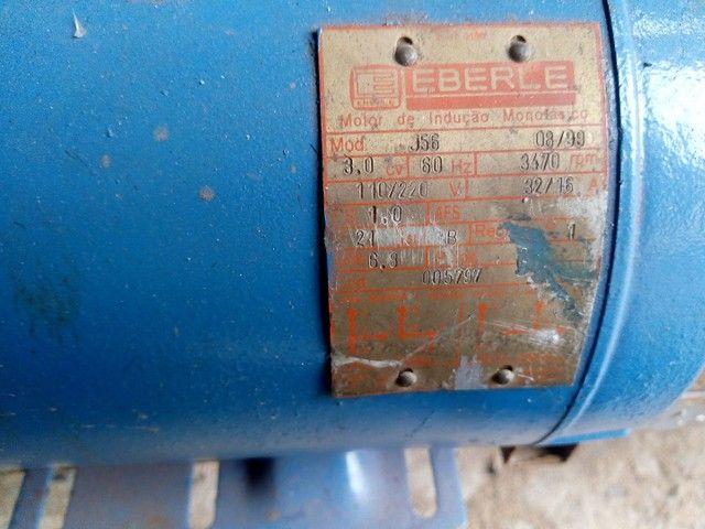 Motor elétrico de 3cv  alta 3450 rpm  monofásico - Foto 4