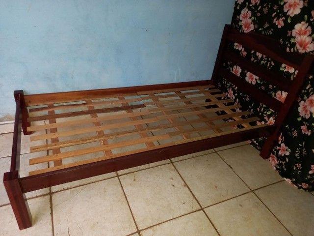 Cama solteiro madeira maciça  - Foto 3