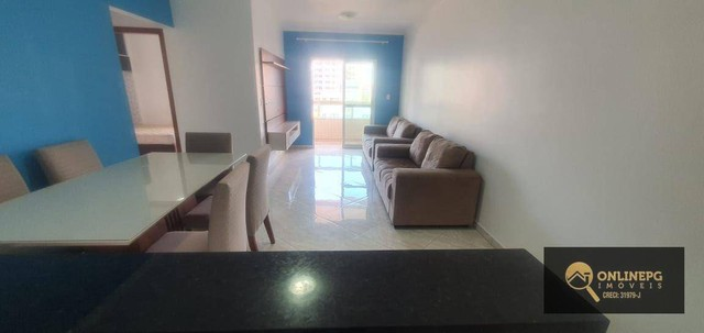 Apartamento com 2 dormitórios à venda, 80 m² por R$ 420.000,00 - Vila Tupi - Praia Grande/ - Foto 16
