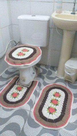 Jogo de banheiro  - Foto 3