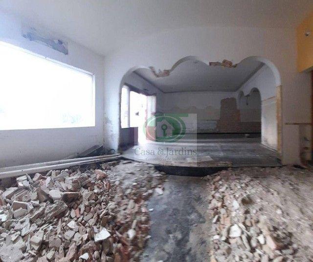 Casa para alugar, 200 m² por R$ 12.500,00/mês - Gonzaga - Santos/SP - Foto 3