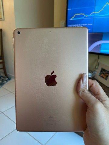 Vendo iPad de última geração Apple gold baixei pra vender logo  - Foto 2