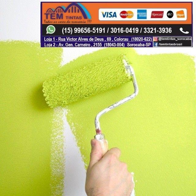 §Oferta# Tinta semi lavável Apartir de 149,00 de 19,5 Litros /Ótimo custo benefício!