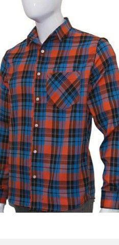 2 camisa franela  xadrez gg - Foto 2