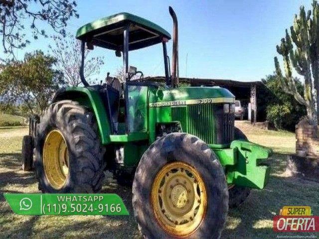 Trator John Deere 6300 4x4 ano 01 - Foto 3