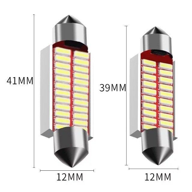 Luz de Teto Torpedo com Resistor Cabuns (1Pç) - Foto 2