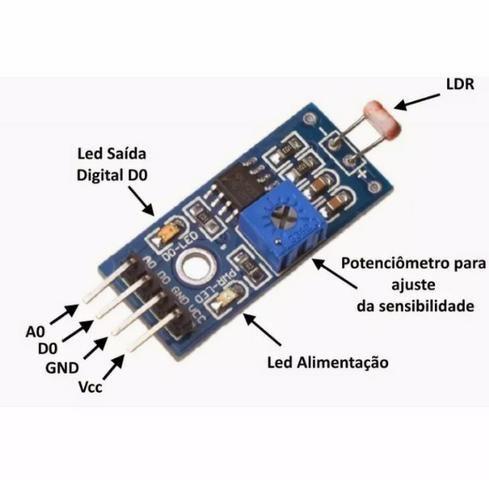 Modulo Sensor De Luz Ldr - Light Detect - Foto 2