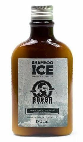 Shampoo para barba, barba de respeito 170ml