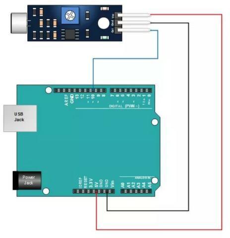 Módulo Detector Sensor De Som Palmas - Foto 4