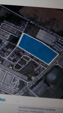 Terreno Comercial medindo 25.629 m2 Av. Melicio Machado