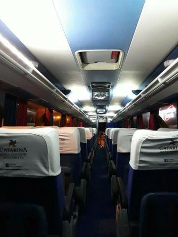Onibus 40 lugares leito.Aceito automovel,microonibus ou imovel na troca. - Foto 2