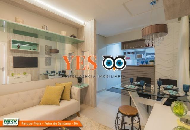 Apartamento residencial para Locação, Sim, Feira de Santana, 2 dormitórios, 1 sala, 1 banh - Foto 10
