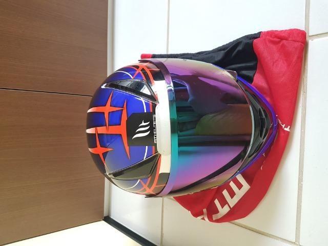 Capacete MT Helmets Revenger 58 + Viseira Camaleão - Foto 3