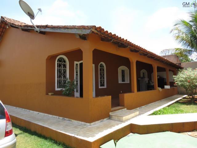Vendo casa no setor de mansões, 3 quartos / suíte / piscina / churrasqueira / próximo a ca - Foto 2