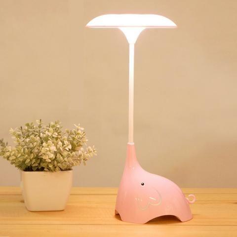 Luminária De Mesa USB Em formato de Elefante Touch Led - Foto 5