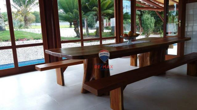 Re/max aluga para temporada casa térreo localizado no distrito de vale verde. - Foto 10