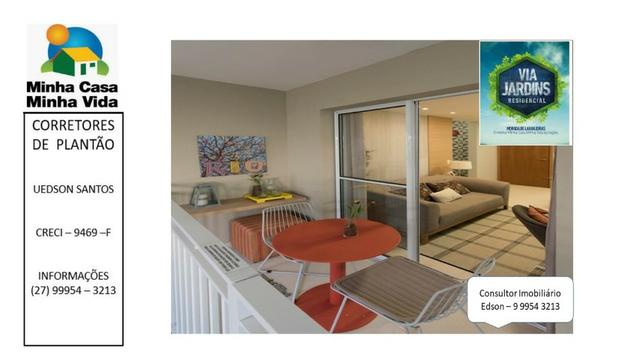 UED-94 - Apartamento 2 quartos com lazer completo em morada de laranjeiras - Foto 9