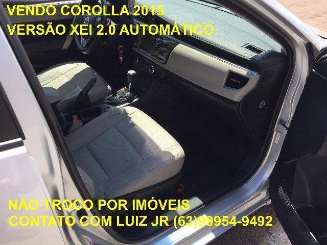 Corolla Xei 2015 - 04 pneus Michelin Zero - Documento pago - Estado de Zero - Foto 11