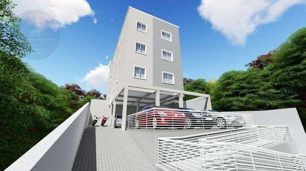 Apartamento à venda com 2 dormitórios em Jardim palmital, Colombo cod:AP216
