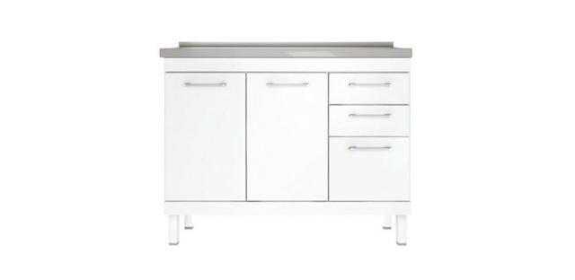 Gabinete HB 1,20 Para Pia de Cozinha Totalmente Organizada e Moderna - Foto 5