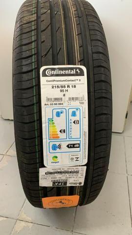 Pneu Continental Tracker 215/55r18 95h Original Gm * - Foto 3