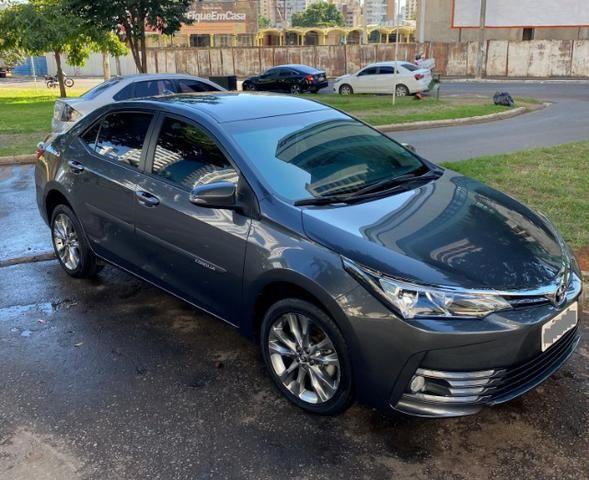 Toyota Corolla 2.0 XEI Cinza 2018/2019 - Novíssimo