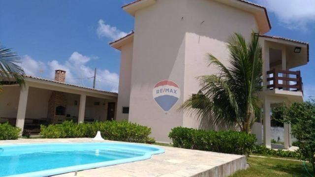 Casa com 3 dormitórios à venda, 180 m² por R$ 420.000,00 - Loteamento Praia Bela - Pitimbú