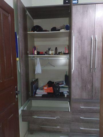 Guarda-roupas 4 portas solteiro - Foto 5