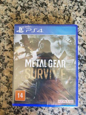 Jogo PS4 Metal Gear Survive