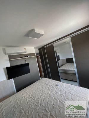 Aberto p/ permuta e carro - Apto de 3 suites mobiliado - Foto 5