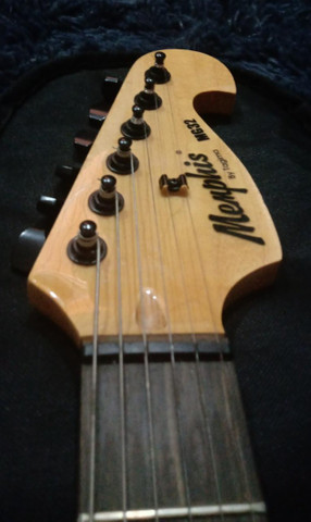 Guitarra Stratocaster Memphis Preta - Foto 2