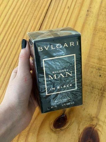 Perfume Bvlgari Man In Black original, 60mL, lacrado - Foto 2