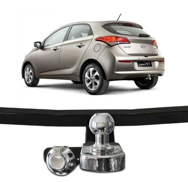 Engate reboque Hyundai HB20 Hatch 2012 a 2019