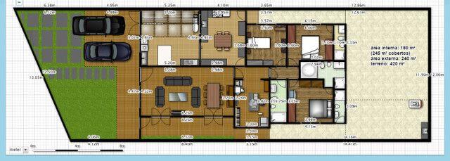 Casa 3 dmt à venda no Jd Paulista Ourinhos-SP - (em frente à praça da CPFL) - Foto 20