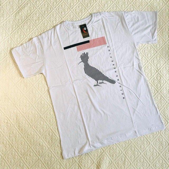 camiseta malha peruana em atacado - Foto 5