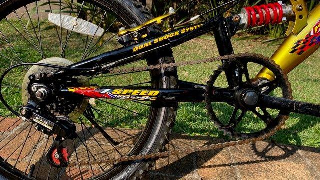 Bicicleta MTB Infantil Kent Hyper 20, Aro 20 - Pouco Usada - Foto 5