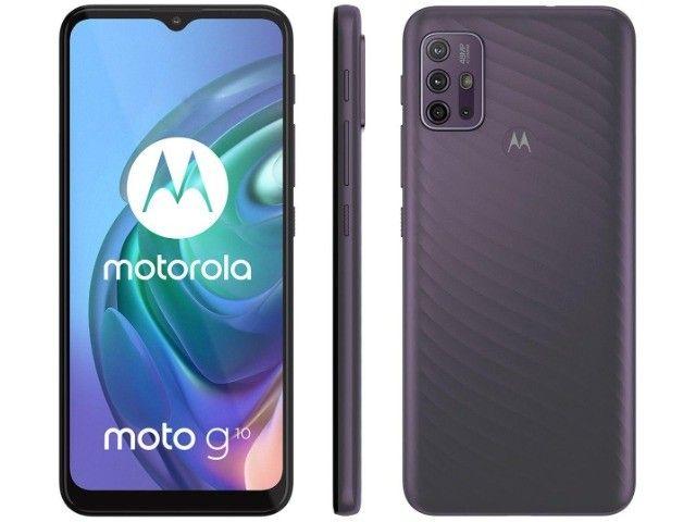 Celular Motorola Moto G10 64GB, Tela 6,5, Novo, Lacrado, Garantia de 1 ano - Foto 3